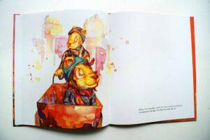 Børnebogsillustrationer løve