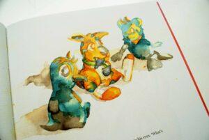 Børnebogsillustrator Jakob i