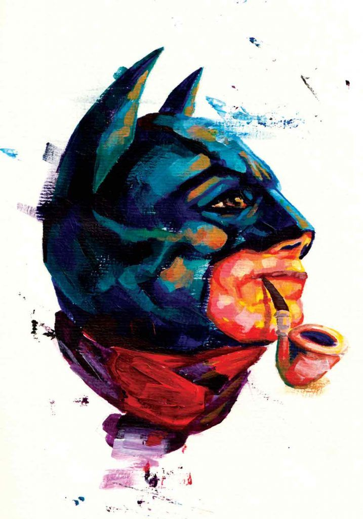 tegner illustrator Batman