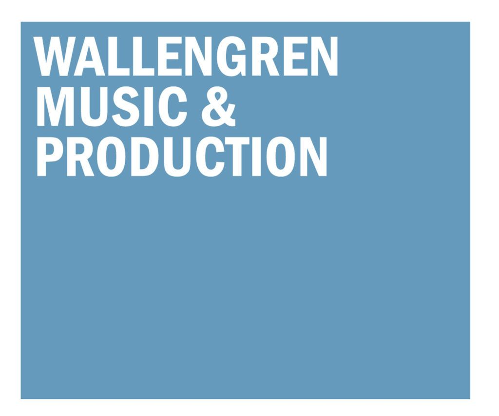 Logo Wallengren Music and prodcution