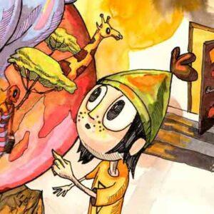 Børnebogsillustrationer Milo