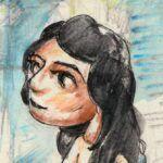 Illustrationer til børn pige