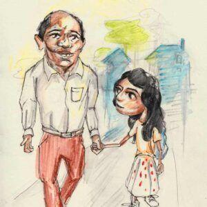 Børnebogsillustration Ali Taran