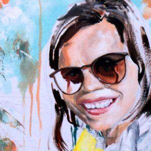 Malerier til salg kvinde