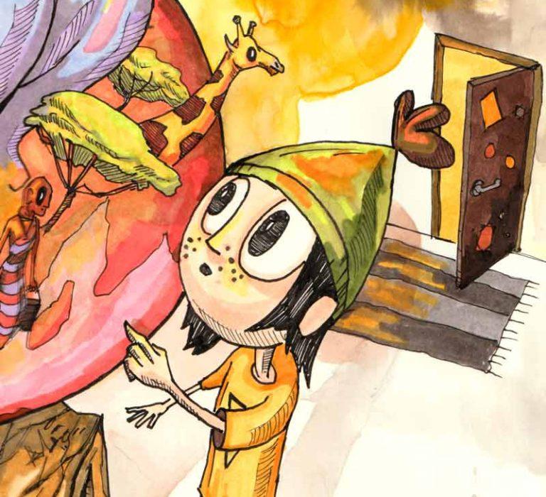 Børnebogs illustrator
