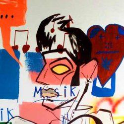 Billedkunstner graffiti